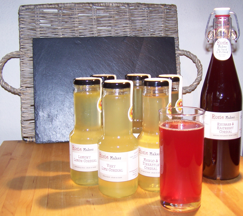 fruit cordials